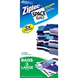 "Space Bag # 5303ZG, 3 Large Value Pack Vacuum Seal Storage Bags, each, Clear (21.5"" X 33.5"")"