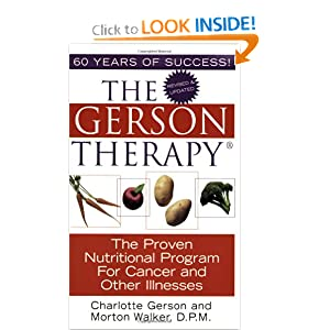 Amazon.com: The Gerson Therapy: The Proven Nutritional Program for ...