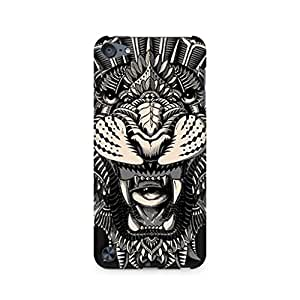 Motivatebox- Abstract Tiger Apple Ipod Touch 6th Generation cover -Matte Polycarbonate 3D Hard case Mobile Cell Phone Protective BACK CASE COVER. Hard Shockproof Scratch-
