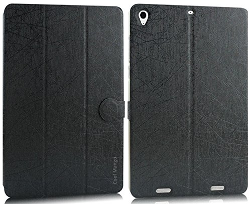 Cool Mango Executive PU Leather Flip Case / Cover for Xiaomi Mi Pad - Natural Black