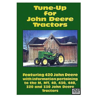 New Tune Up Video (64 min DVD) For John Deere Tractor M MT 40 320 330 420 430 + (John Deere Model M compare prices)