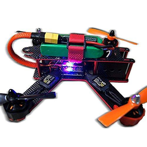 Targethobby-Carbon-Fiber-QAV210-FPV-4-Axis-Quadcopter-Kit-W-Hobbymate-2204-Motor-Upgrade-BLHeli-15A-ESCsProps-Motor-Protector-Upgrade-5-IN-1-Function-5v-12v-PDB-Wrench-Battery-Paste-Belt