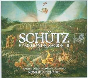 ハインリヒ・シュッツ シンフォニアサクラ (2CD) [Import] (SYMPHONIAE SACRE III)