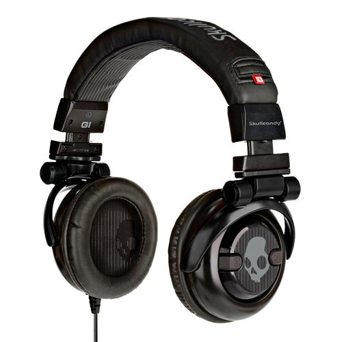 Skullcandy G.I. Stereo Headphones S6GICZ-003 (Black)