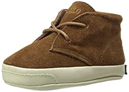 Ralph Lauren Layette Derek Chukka Boot (Infant/Toddler), Snuff Suede, 3 M US Infant