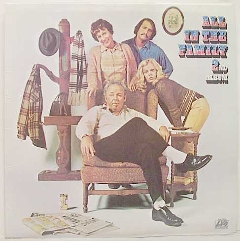 Original album cover of All in the Family 2nd Album by All In the Family