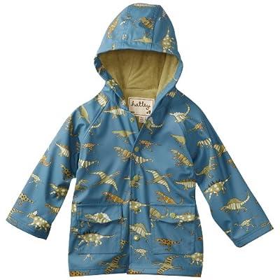 Hatley Blue Dino Boy's Rain Coat