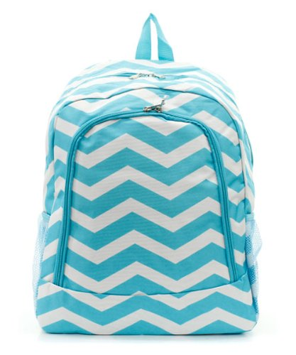 Chevron Print Backpack Tq