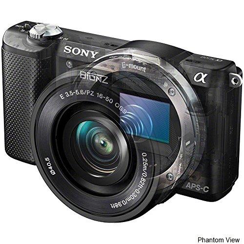Sony Alpha A5000 Mirrorless Black Digital Camera Body With 16-50Mm F/3.5-5.6 Oss Lens