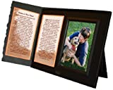 Dog Lover Remembrance Gift, Best Friend Poem, Memorial Pet Loss Picture Frame Keepsake and Sympathy Gift Package