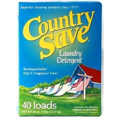 Country Save, Laundry Detergent, 80 oz