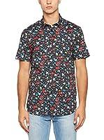 Love Moschino Camisa Hombre (Negro / Multicolor)