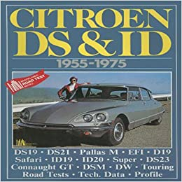 R.M. CLARKE - Citroen DS and ID 1955-1975 (Brooklands ** Very Good Condition **