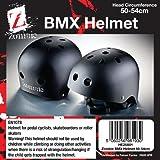 Falcon Boys BMX Helmet  - Black, 50-54-cm