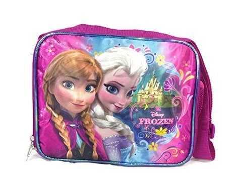 Frozen Insulated Soft Lunch Box - Features Elsa and Anna