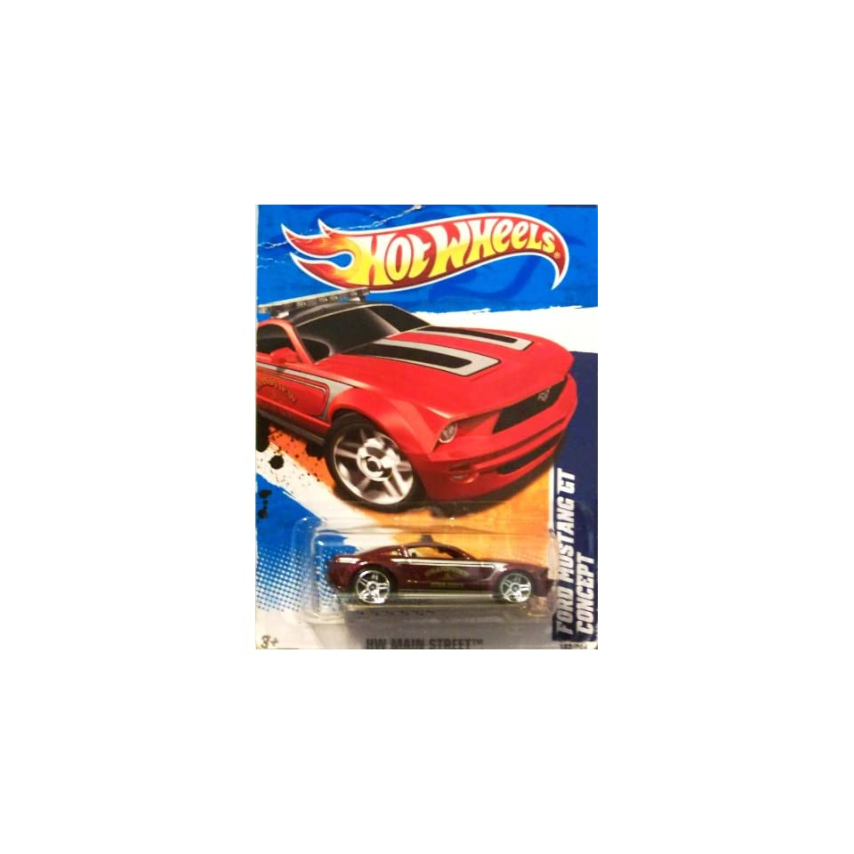 2011 Hot Wheels Ford Mustang GT Concept Grey #162/244