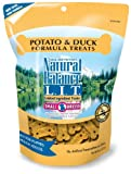 Natural Balance Potato and Duck Formula Dog Treats, 8-Ounce Bag