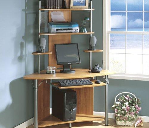 corner computer desks Discount price: Sauder Apollo Corner ...