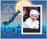 Merry Christmas (Rooftop)- Picture Frame Gift
