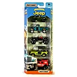 Matchbox Anniversary Edition Jeep 5-Pack
