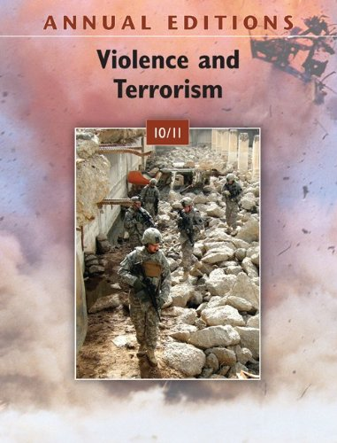 Annual Editions: Violence and Terrorism 10/11, by Thomas Badey
