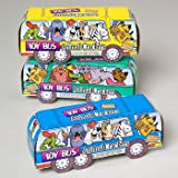 Toy Bus Animal Crackers Case Pack 144