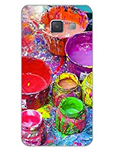 Samsung A3 Back Cover - Colour Splash - Artist At Heart - Designer Printed Hard Shell Case