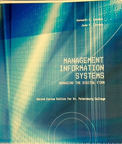 management information systems managing the digital firm Find product information, ratings and reviews for management information systems : managing the digital firm (paperback) (kenneth c laudon & jane p online on targetcom.