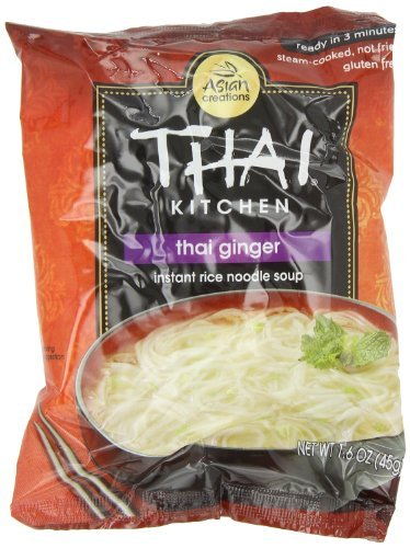 Thai Kitchen Thai Ginger & Veg Instant Noodle, 1.6000-Ounce (Pack of 12) (Thai Soup Mix compare prices)