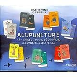 Acupuncture : Coffret 360 cartes pour découvrir les points essentiels