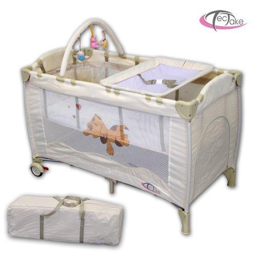 Baby Travel Cot BEIGE