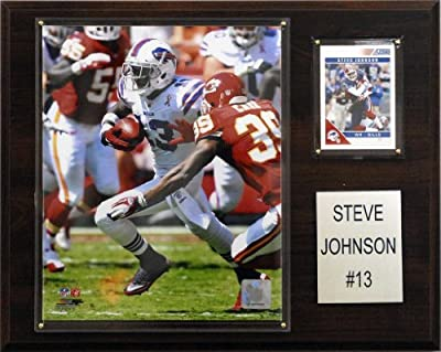 NFL Steve Johnson Buffalo Bills Player Plaque