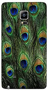 Snoogg Feather Pattern Designer Protective Back Case Cover For Samsung Galaxy...