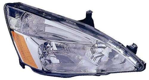 Depo 317-1131R-UF Honda Accord Passenger Side Replacement Headlight UNIT (Lens and Housing only), NSF Certified (05 Accord Headlight Assembly compare prices)