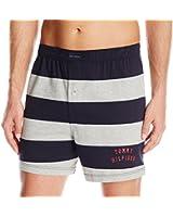 Tommy Hilfiger Men's Rugby Knit Stripe Boxer Short