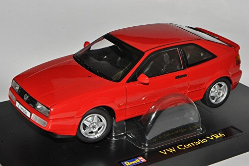 VW-Volkswagen-Corrado-VR6-Rot-1988-1995-118-Revell-Modell-Auto