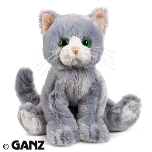 Webkinz HM222 Silversoft Cat Plush Animal
