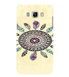 PrintVisa Tribal Dreamcatcher Design 3D Hard Polycarbonate Designer Back Case Cover for Samsung Galaxy J5