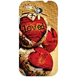 Printland Micromax A117 Canvas Magnus Boy (Printed Back Cover)