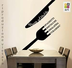 ... parete, adesivi per muro, carta da parati: Amazon.it: Casa e cucina