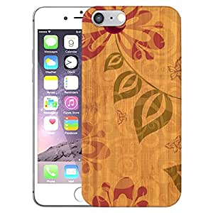 Digione Real Shockproof Dual Layer Bamboo Wood show stop Series Back Cover Case For Apple iPhone 6 6s BK-941