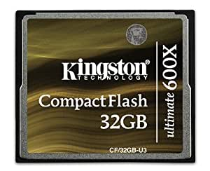 Kingston CF/32GB-U3 Carte CompactFlash Ultimate 600x - 32 Go