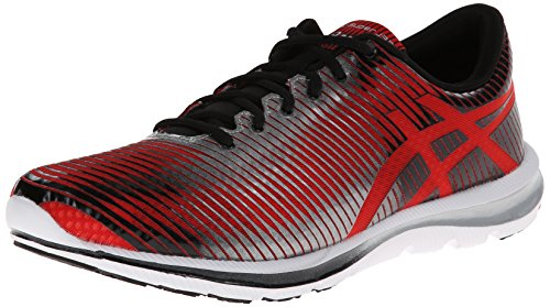 ASICS Men's GEL-Super J33 Running Shoe,Red/Lightning/Black,1