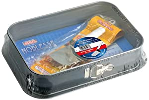 Kaiser 754338 Springform Cake Tin for Tray Baked Cakes with Cake Slice
