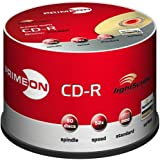 "PRIMEON CD-R 52X 80min / 700MB LightScribe Version 1.2 50er Spindelvon ""PRIMEON"""