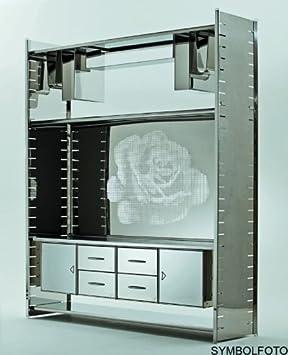 Graepel High Tech 2tablas de inserción de acero inoxidable para el H2Giant Estantería Sistema