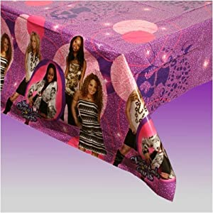 Cheetah Girls Plastic Tablecover
