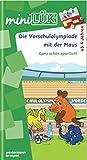 miniLÜK: Die Vorschulolympiade mit der Maus 1: für Kinder ab