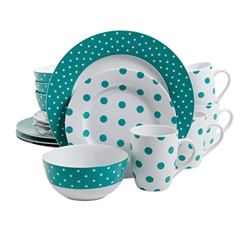 isaac-mizrahi-dot-luxe-16-piece-dinnerware-set-teal
