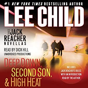 Three Jack Reacher Novellas (with Bonus Jack Reacher's Rules) Audiobook